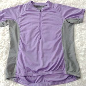 Novara Cycling Purple Jersey Short Sleeves XL